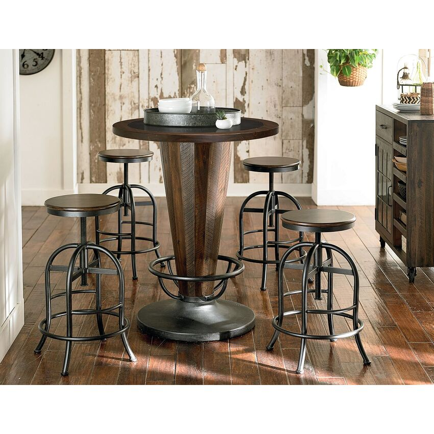 Adjustable Height Pub Stool - 3