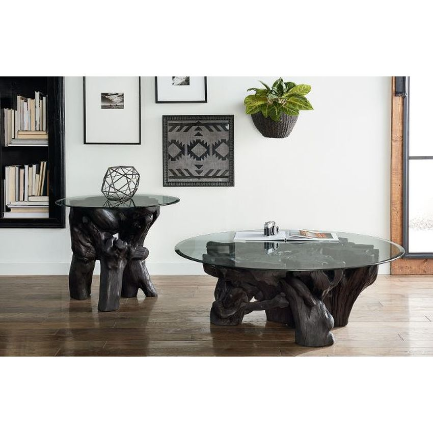 Charred Rootball Cocktail Table - 2