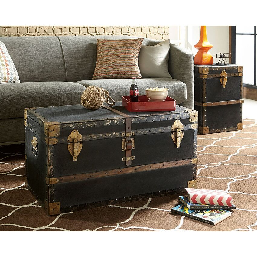 Trunk End Table - 2