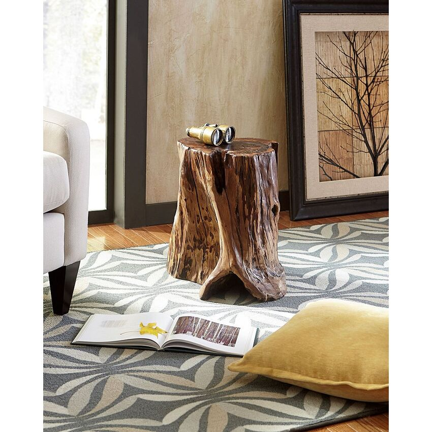 Tree Trunk Accent Table - 3