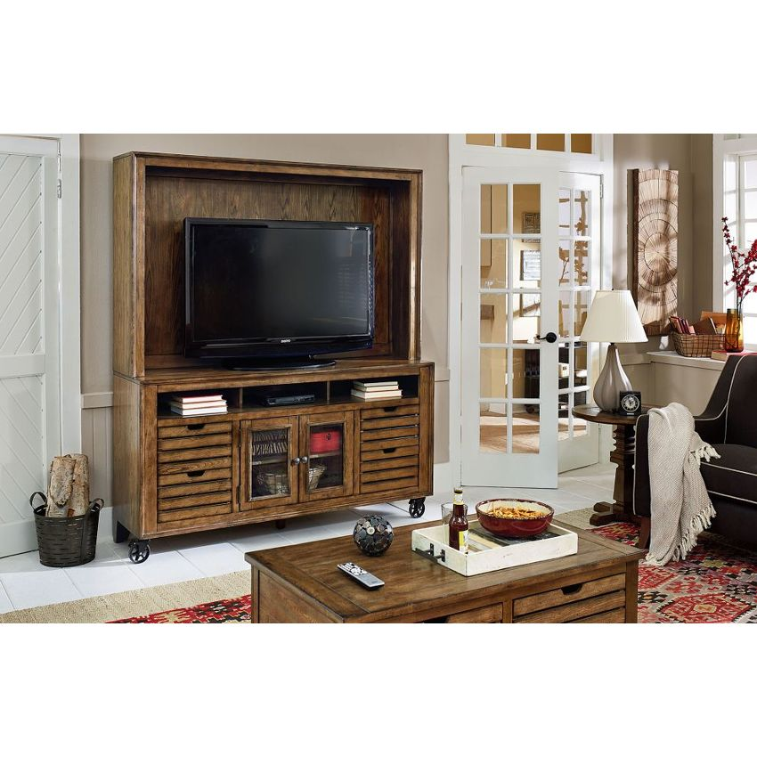 "Entertainment Center 66"" Hutch - 2"