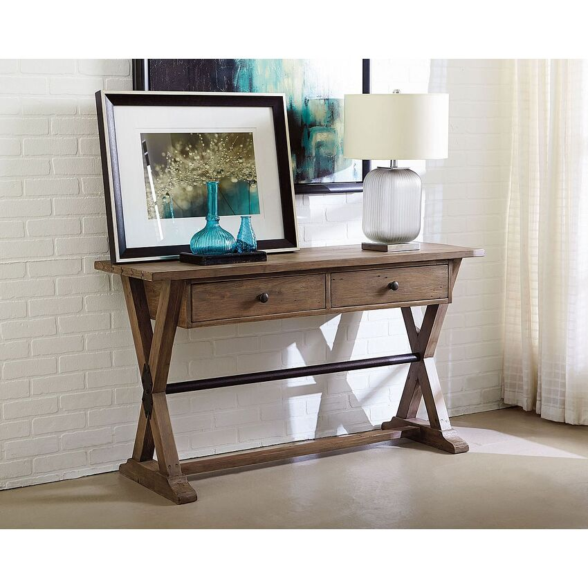 TRESTLE SOFA TABLE - 2