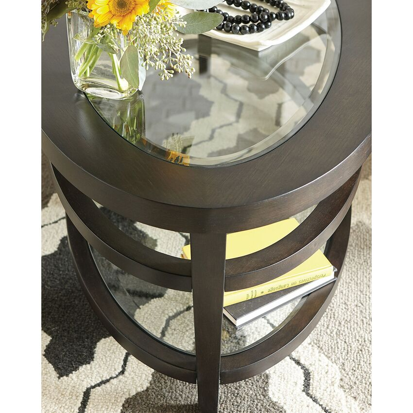ROUND COCKTAIL TABLE - 3