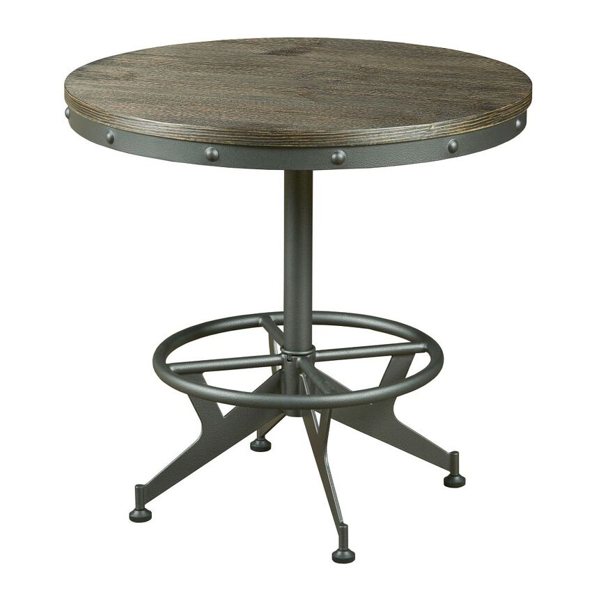 HIDDEN TREASURES-ROUND END TABLE