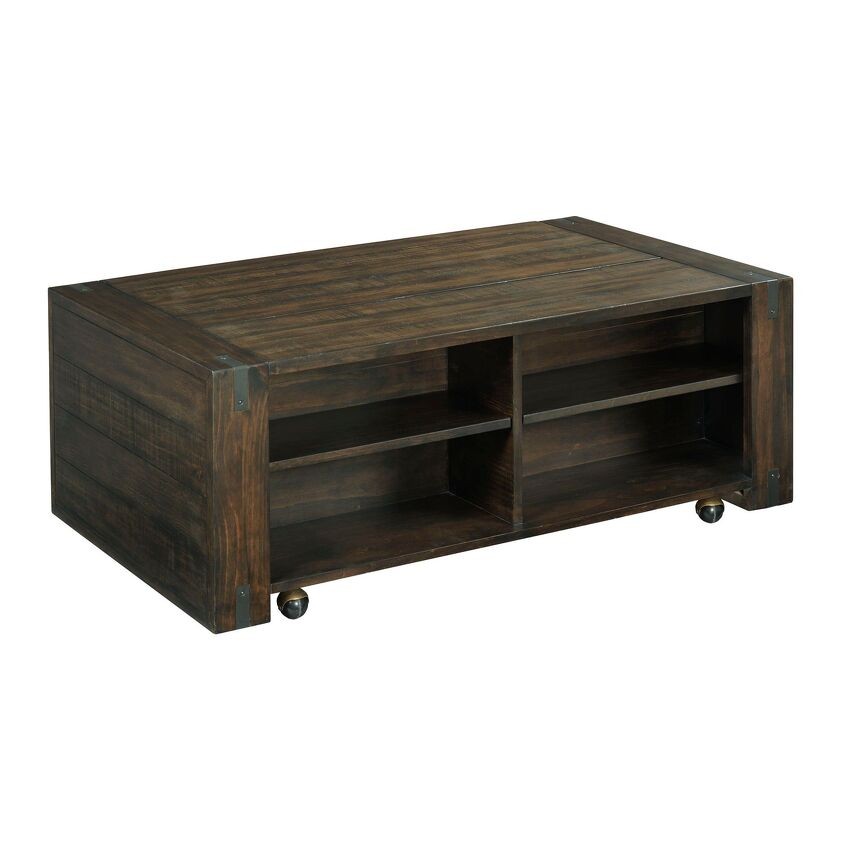 RECTANGULAR LIFT TOP COFFEE TABLE