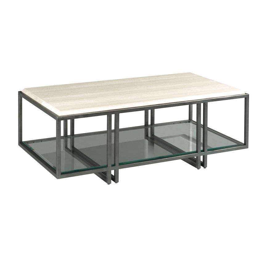 RECTANGULAR COFFEE TABLE - 1