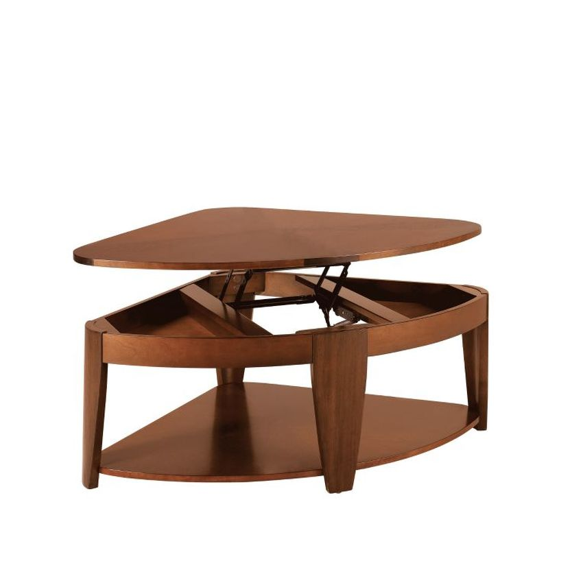 Wedge Lift-Top Cocktail Table