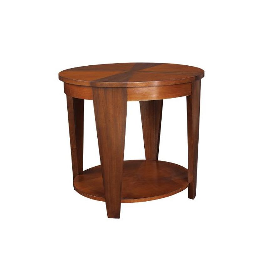 Oval End Table - 1