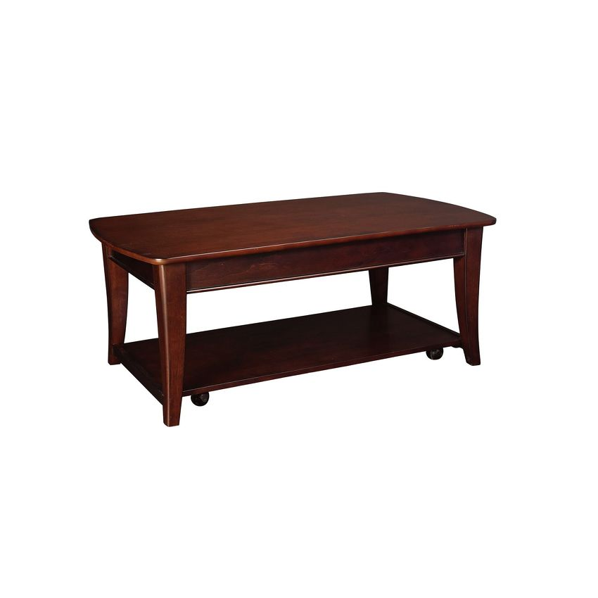 -Rectangular Lifttop Cocktail Table