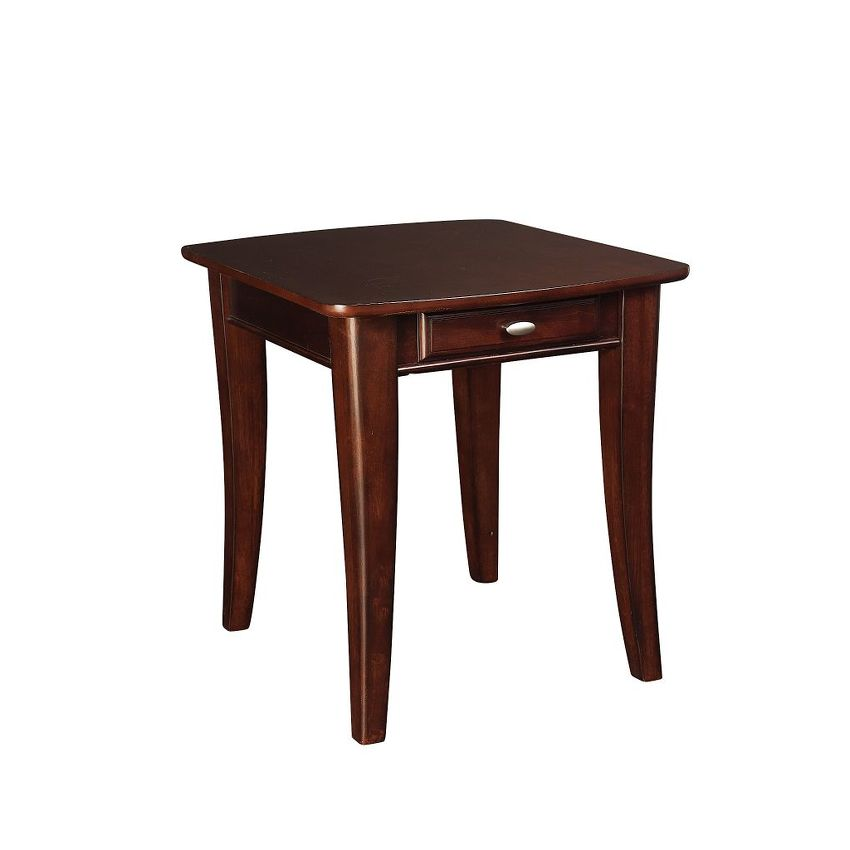 -Rectangular End Table