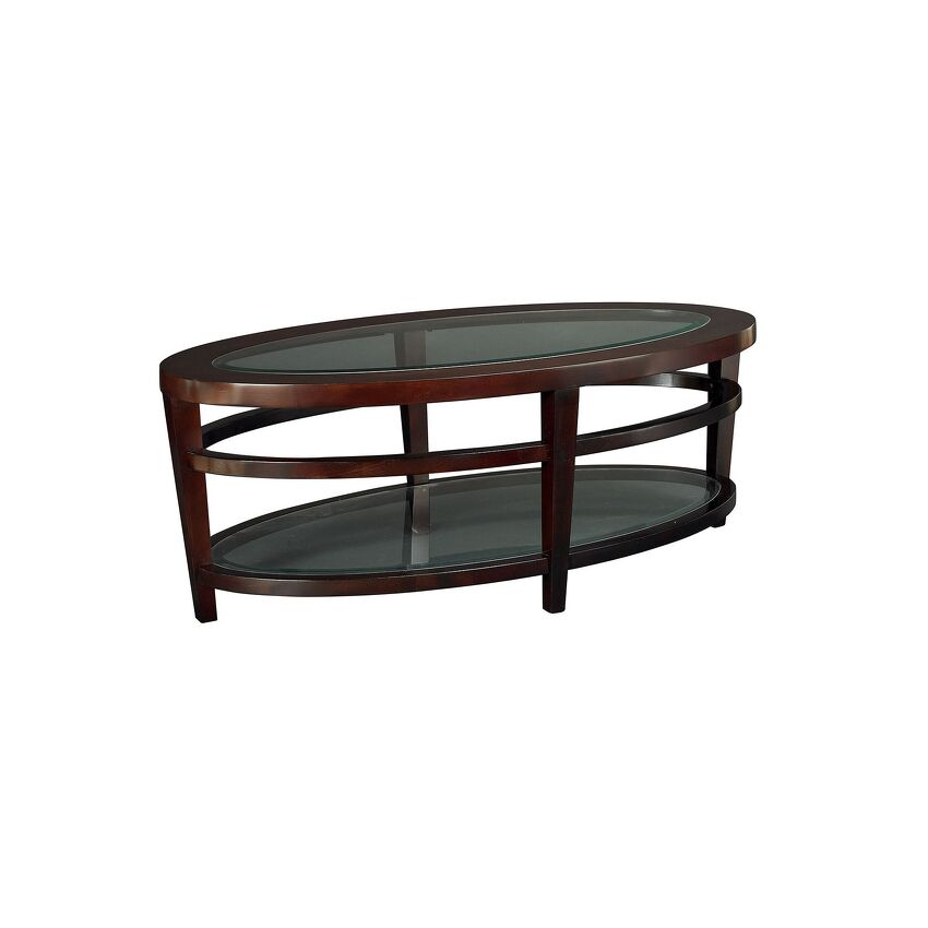 URBANA-OVAL COCKTAIL TABLE