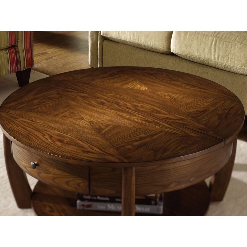 Primo Coffee Table Round: Round Cocktail Table